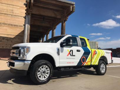 Utility And Munil Fleets Has Unveiled The First Plug In Hybrid Electric Ford Super Duty F 250 Pickup Truck At Ntea Work