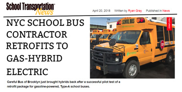 article nyc school bus