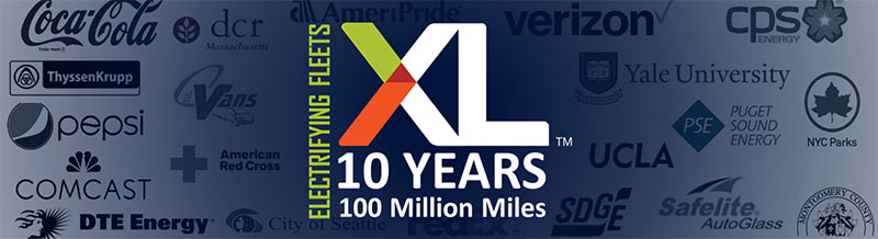 XL Electrifying Fleets - 10 Years - 100 Million Miles
